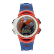 Marvel® Spider-Man® Kids LCD Dial Blue Strap Digital Watch