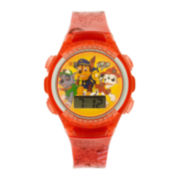 PAW Patrol Kids LCD Dial Red Strap Digital Watch