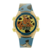 Scooby Doo Kids LCD Dial Green Strap Digital Watch