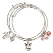 Messages from the Heart® by Sandra Magsamen® 3-pc. Faith Bracelet Set