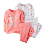 Carter's® 4-pk. Poodle Pajama Set - Toddler Girls 2t-5t