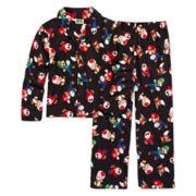 Super Mario Pajama Set - Boys 4-10