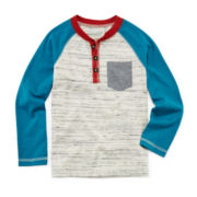 Arizona Colorblock Henley - Preschool Boys 4-7