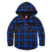 Arizona Flannel Sherpa Hoodie - Preschool Boys 4-7