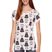 Short-Sleeve Allover Print T-Shirt