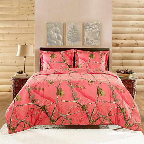 Real Tree Brights Camo Comforter Set