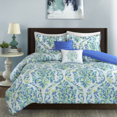 jcpenney.com | Intelligent Design Dina Damask Comforter Set