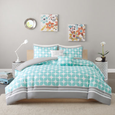 jcpenney.com | Intelligent Design London Comforter Set
