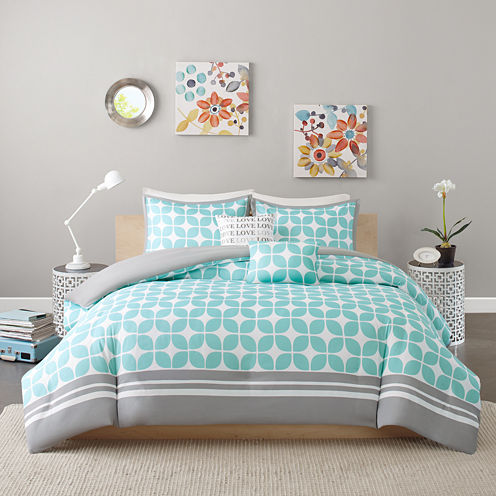 Intelligent Design London Duvet Cover Set