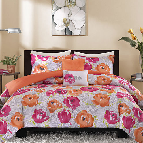 Intelligent Design Jenessa Duvet Cover Set