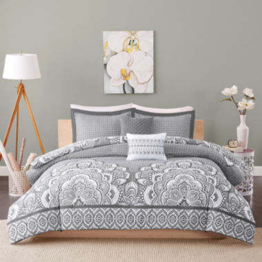 jcpenney.com | Intelligent Design Lisette Duvet Cover Set
