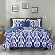 Intelligent Design Oasis Coverlet Set