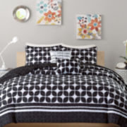 Intelligent Design Jillian Coverlet Set