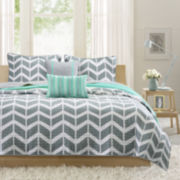 Intelligent Design Laila Coverlet Set