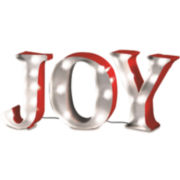 """Joy"" LED Marquee Sign"