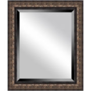 Antique Bronze-Tone Mirror
