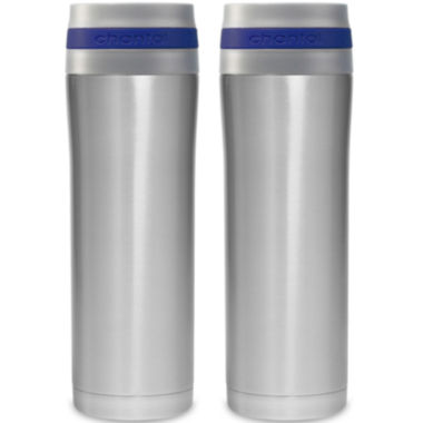 jcpenney.com | Chantal® 2-pc. 15-oz. Stainless Steel Travel Mug Set