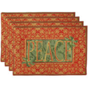 Park B. Smith® Peace Set of 4 Placemats