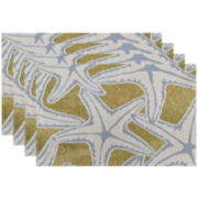 Park B. Smith® Starfish Set of 4 Placemats