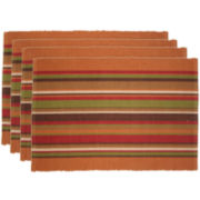 Park B. Smith® Atwood Stripe Set of 4 Placemats