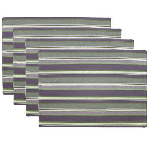 Park B. Smith® Kenswick Stripe Set of 4 Placemats
