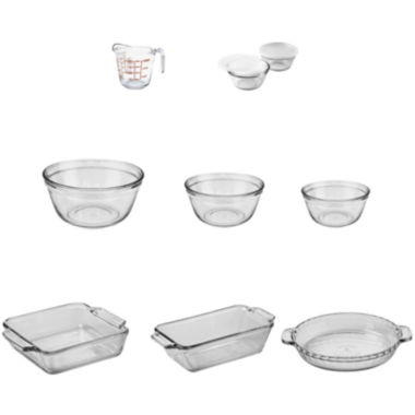 jcpenney.com | Anchor Hocking Company™ 11-pc. Glass Bakeware & Food Prep Set
