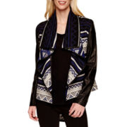 i jeans by Buffalo Print Flyaway Jacket