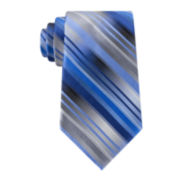 Van Heusen® Mission Stripe Silk Tie and Tie Bar