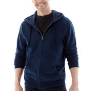 St. John's Bay® Full-Zip Fleece Hoodie