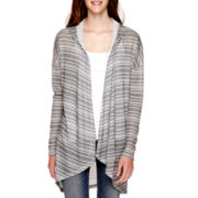 Love by Design Long-Sleeve Hooded Cozy Cardigan