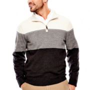 Dockers® Soft Acrylic Colorblock Sweater