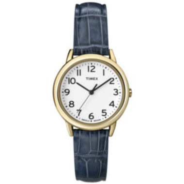 jcpenney.com | Timex® Womens Croc-Embossed Leather Strap Watch