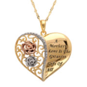 Diamond Accent Mothers Love Pendant