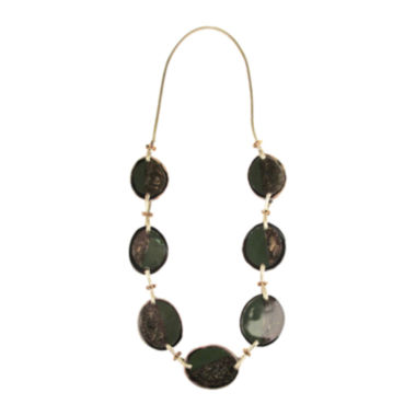 jcpenney.com | Designs by Adina Olive & Gold-Tone Bead Necklace