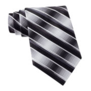 Van Heusen® Brave Striped Silk Tie – Extra Long