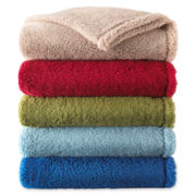 Sunbeam® Lofty Plush Throw