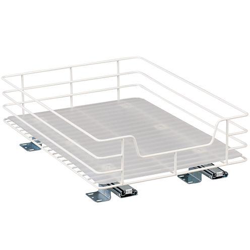 "Household Essentials® Glidez™ 12"" Single Basket Sliding Pantry Organizer"
