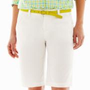 jcp™ Twill Bermuda Shorts - Talls