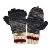 MUK LUKS® Marled Flip Gloves