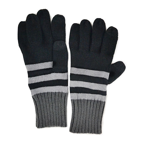 MUK LUKS® Colorblock Stripe Gloves