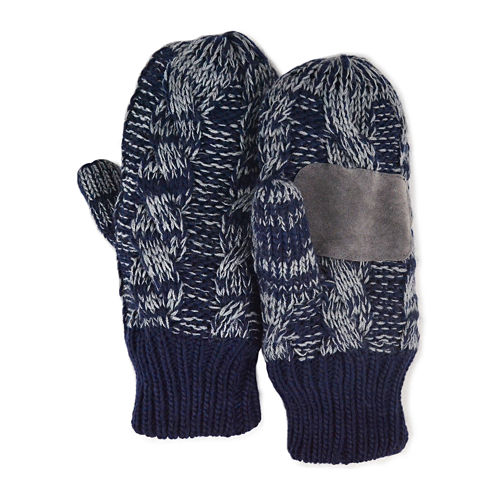MUK LUKS® Cable Knit Mittens