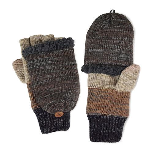 MUK LUKS® Ombre Fingerless Flip Top Gloves