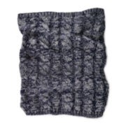 MUK LUKS® Cable Knit Funnel Scarf