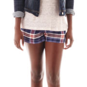 MNG by Mango® Plaid Shorts