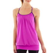 Xersion™ Layered Blouson Racerback Tank Top