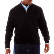 The Foundry Supply Co.™ Quarter-Zip Sweater-Big & Tall