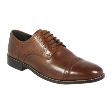 jcpenney.com | Nunn Bush® Norcross Mens Cap-Toe Leather Oxfords