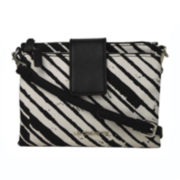 Liz Claiborne® Double Top-Zip Crossbody Bag