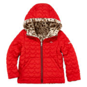 Pacific Trail Reversible Quilted Jacket - Preschool Girls 4-6x
