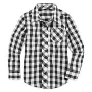 Arizona Button-Front Shirt - Toddler Boys 2t-5t